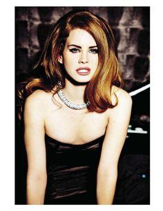 'The Fabulous Del Rey', Lana Del Rey by Ellen von Unwerth, Vogue Italia, August 2012