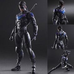 Play Arts Kai Night Wing from Batman: Arkham Knight DC Comics [IN STOCK]  $235 AUD (FREE standard parcel post to anywhere in Australia) Now available from: https://www.figurecentral.com.au/products/play-arts-kai-night-wing-from-batman-arkham-knight-dc-comics-in-stock?variant=18061833985  #playartskai #nightwing #batman #squareenix #dccomics #figurecentral