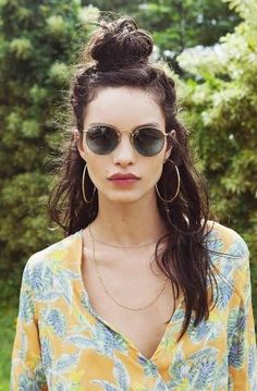 15 Effortlessly Cool Hair Ideas to Try This Summer via @byrdiebeauty by evangelina