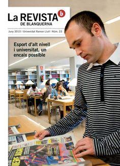 Coberta La revista de Blanquerna, 23, 2010 #design #university #Blanquerna