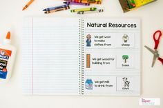 This download is full of perfect preschool science activities for all your science lessons. Kids love to cut, paste, and color in this science notebook!