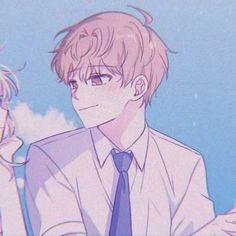 Cute Anime Pics, Cute Anime Boy, Anime Art Girl, Anime Love, Anime Guys, Manga Anime, Couples Anime, Anime Couples Drawings, Couple Drawings