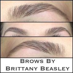 Brow tint, wax, tweeze, and trim. Perfection! #brows