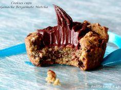 Cookies cups à la ganache bergamote-matcha