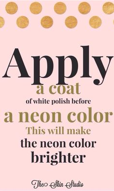 Nail tip Follow us for more tips and tricks!