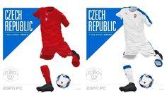 Camisa da Seleção da República Tcheca Eurocopa 2016-2017 Puma