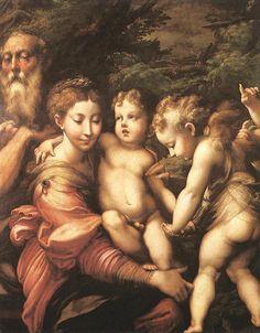 Rest on the Flight to Egypt - Parmigianino