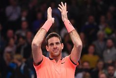 """Former US Open champion Juan Martin del Potro clinched his first ATP title in almost three years with a 7-5, 6-1 victory over American Jack Sock in Sunday's final in Stockholm.  It's motivation for looking forward to the future,"""" said Del Potro.  The 28-year-old, runner-up to Andy Murray in"""