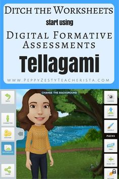 Technology in the Classroom: Tellagami App: