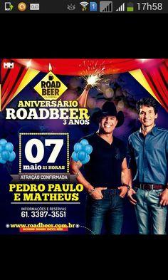 07 de maio Pedro Paulo e Matheus www.ppem.com.br é presença confirmada!