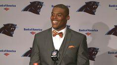 Carolina Panthers quarterback Cam Newton: 'Did I say War Eagle?'