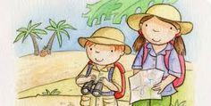 Image result for illustration children visiting the museum