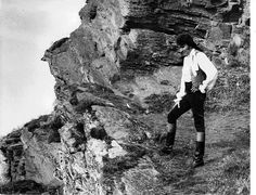Poldark on the cliffs of Cornwall by RobinEllisActor, via Flickr