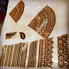 No photo description available. Henna Hand Designs, Basic Mehndi Designs, Pretty Henna Designs, Mehndi Designs Finger, Indian Henna Designs, Beginner Henna Designs, Mehndi Designs For Fingers, Wedding Mehndi Designs, Beautiful Mehndi Design
