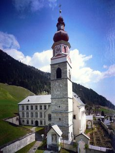 Lesachtal-Maria Luggau, Pfarr- und Wallfahrtskirche Basilika Maria Schnee (Hermagor) Kärnten AUT