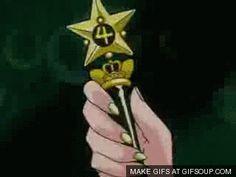 Sailor Moon - Sailor Jupiter star power Transformation GIF