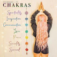 Chakra Balancing - Healing The Seven Chakras - Reiki Temple Les Chakras, Seven Chakras, Sacral Chakra, Chakra Healing, Crystal Healing, Tatouage Yogi, Photo Glamour, Magia Elemental, Pride Tattoo