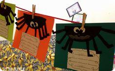 Spider Craft & Poem Activity