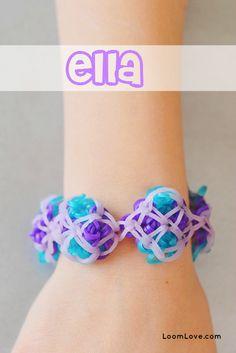 How to Make a Rainbow Loom Ella Bracelet