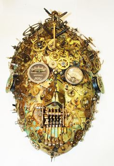 """""""Siddhartha"""" found object assemblage by Assemblique™"""