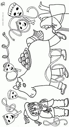 výtvarné námety na karneval - Hľadať Googlom Coloring Pages For Kids, Coloring Books, Diy And Crafts, Crafts For Kids, Winter Art, Craft Activities, Art Lessons, Art For Kids, Preschool