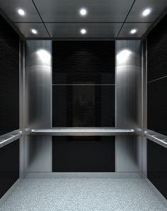 Renovate elevator interior panels! Design an elevator interior like this at https://eklunds.com/tools-resources/design-studio/