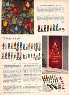 1959 CHRISTMAS LIGHTS