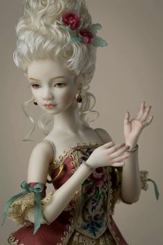 Artist porcelain BJD by Margarita Tsvetkova