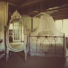 love the freestanding floor mirror