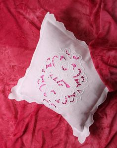 CUTWORK EMBROIDERY KIT  Richelieu Embroidery  Pillowcase