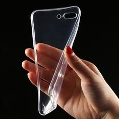 Clear Soft TPU Case for iPhone 6 6s Plus 7 7 Plus Transparent Original  Ultra Thin Silicone Phone Back Cover for iPhone 8 Cover-in Fitted Cases from  ... e514d49f252d