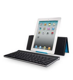Free shipping. Tablet Keyboard for iPad by Logitech is a light, versatile and easy-going keyboard and stand combo that allows you to use you iPad comfortably wherever you are.