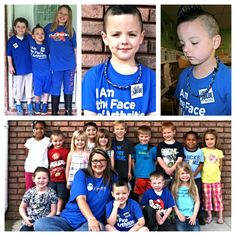 Tiffany's son, Ethan, inspired his entire Pre-K class to join in on going blue for arthritis awareness. Way to go, Ethan!