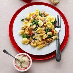 Turkey-Sausage---Spinach-Orecchiette