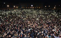De Magistris: in centomila in piazza Plebiscito per ricordare l'artista Pino Daniele