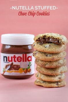 Nutella Stuffed Choc Chip Cookies with Sea Salt – Love Swah – A Sydney food, travel and design blog