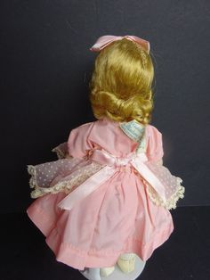 Madame Alexander Alexander-kins Doll: Wendy Loves Pinafores- Factory Dressed in Dolls & Bears, Dolls, By Brand, Company, Character, Madame Alexander, Vintage (Pre-1973), 1948-59 | eBay