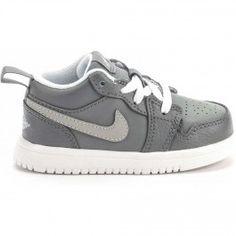 8be7285d83b Air Jordan Phat 1 Low Infant Toddler Lifestyle Shoe (Grey White)