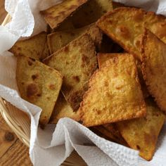 Tortilla Chips Two Ways: Fried and Baked
