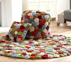 interior decorating with crochet items
