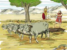 Elijah anoints Elisha 2