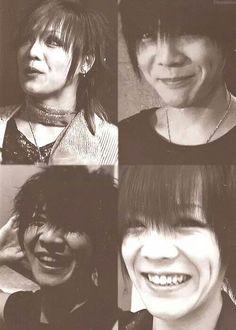 Kai And his adorable baby smile - The GazettE