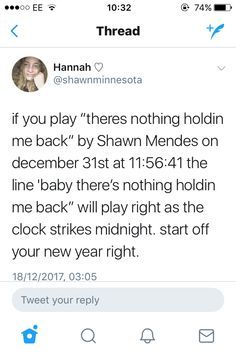 Start off the new year the #MendesArmy way by listening to TNHMB! Credits to @shawnminnesota