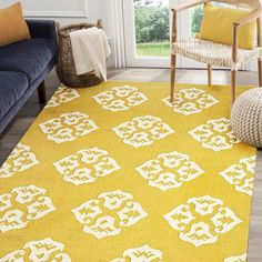 Rugsville Kilims Gold Wool 13659 Rug