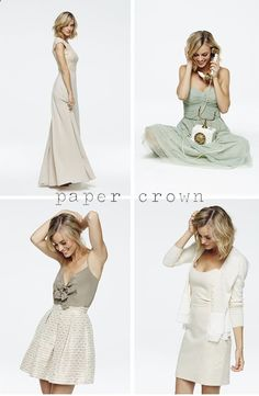lauren conrads spring 2014 collection for paper crown (now sold at anthropologie)