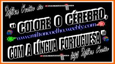 "00 Download Grátis - Wallpaper (1366x768) - Free Download  ""Colore o cérebro, com a Língua Portuguesa""  (translation: Color the brain, with the Portuguese Language)  Criado no dia/Created on 29/04/2016  Por/By:  Milton Coelho"
