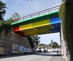World's Strangest Bridges: Lego Bridge, Wuppertal, Germany