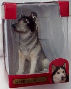 3e9950a2f491 American Canine Association Siberian Husky LE Christmas Ornament Siberian  Huskies