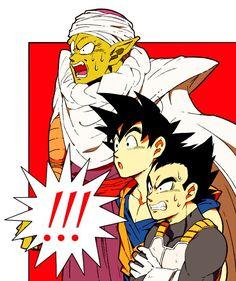 Dragon Ball Piccolo Goku Vegeta