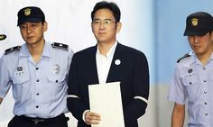Lee Jae Young Samsung beneficiary sentenced jail for straight five years, after corruption charges were proved in court